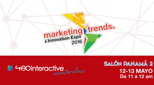 Master Class de 480interactive en la Marketing Trends & Innovation Expo 2016