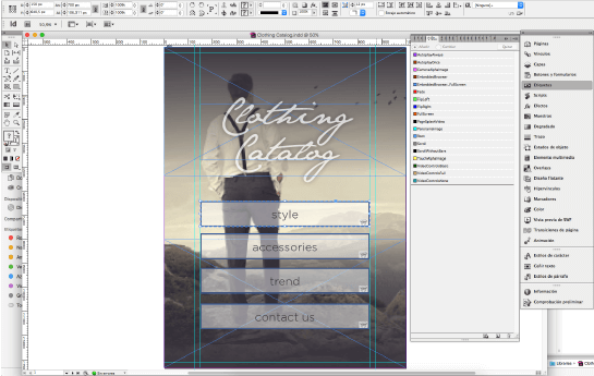 Crear apps indesign