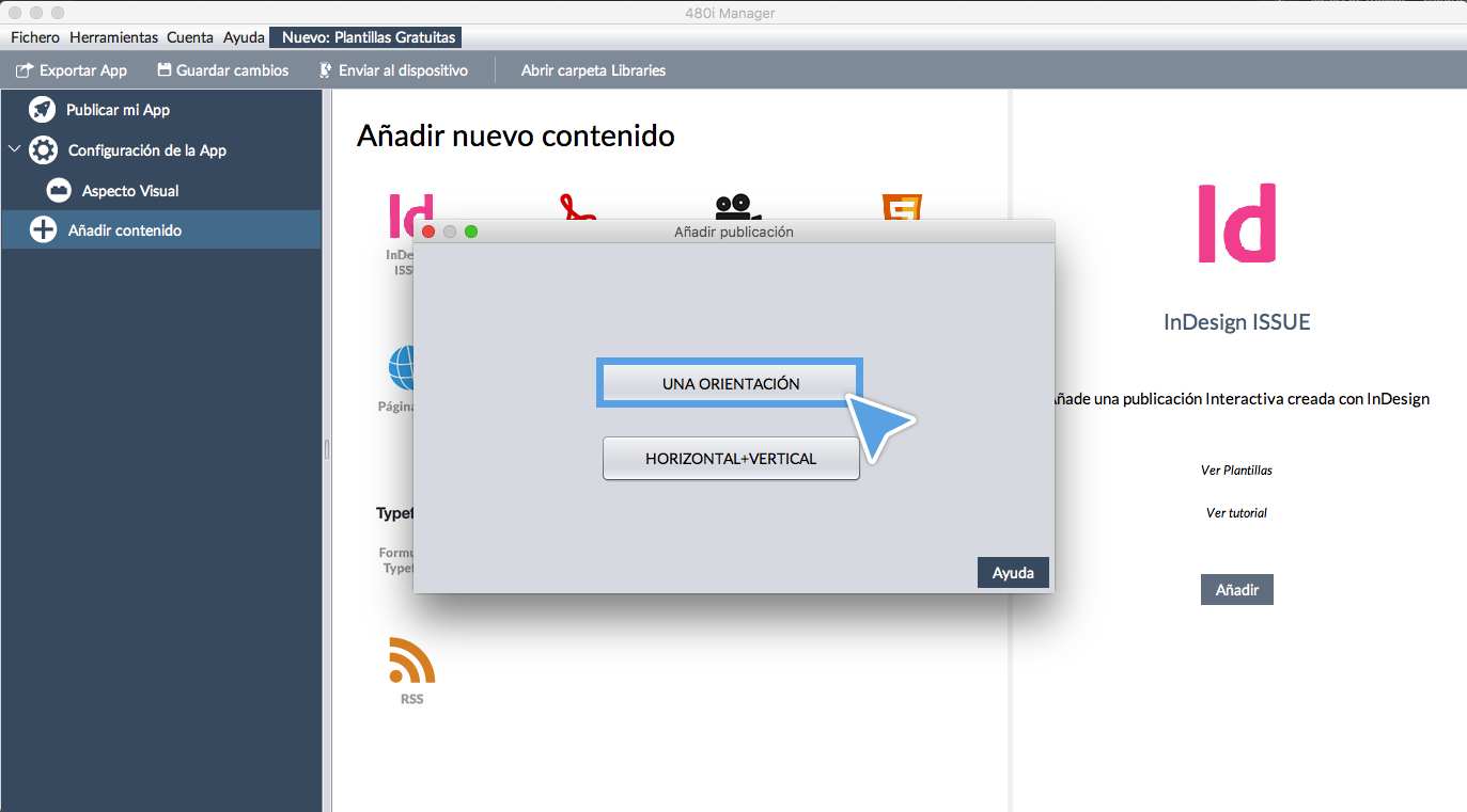 Asistente 480interactive: Crea una App tipo Single con InDesign ...