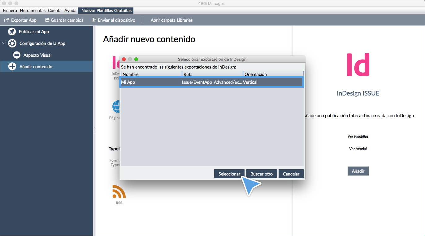 Crea tu App con InDesign en 10 minutos | Blog 480interactive
