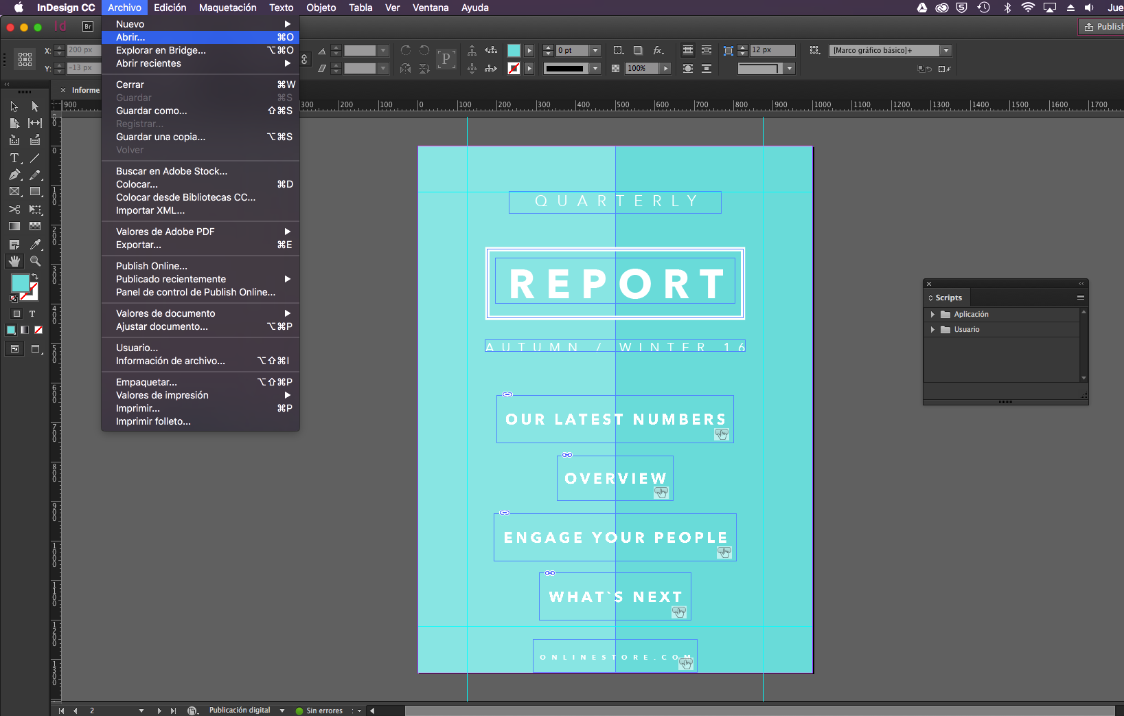 480interactive Wizard: Create a Kiosk App with InDesign | 480interactive