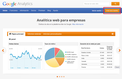 Obten datos de tu App con Analytics