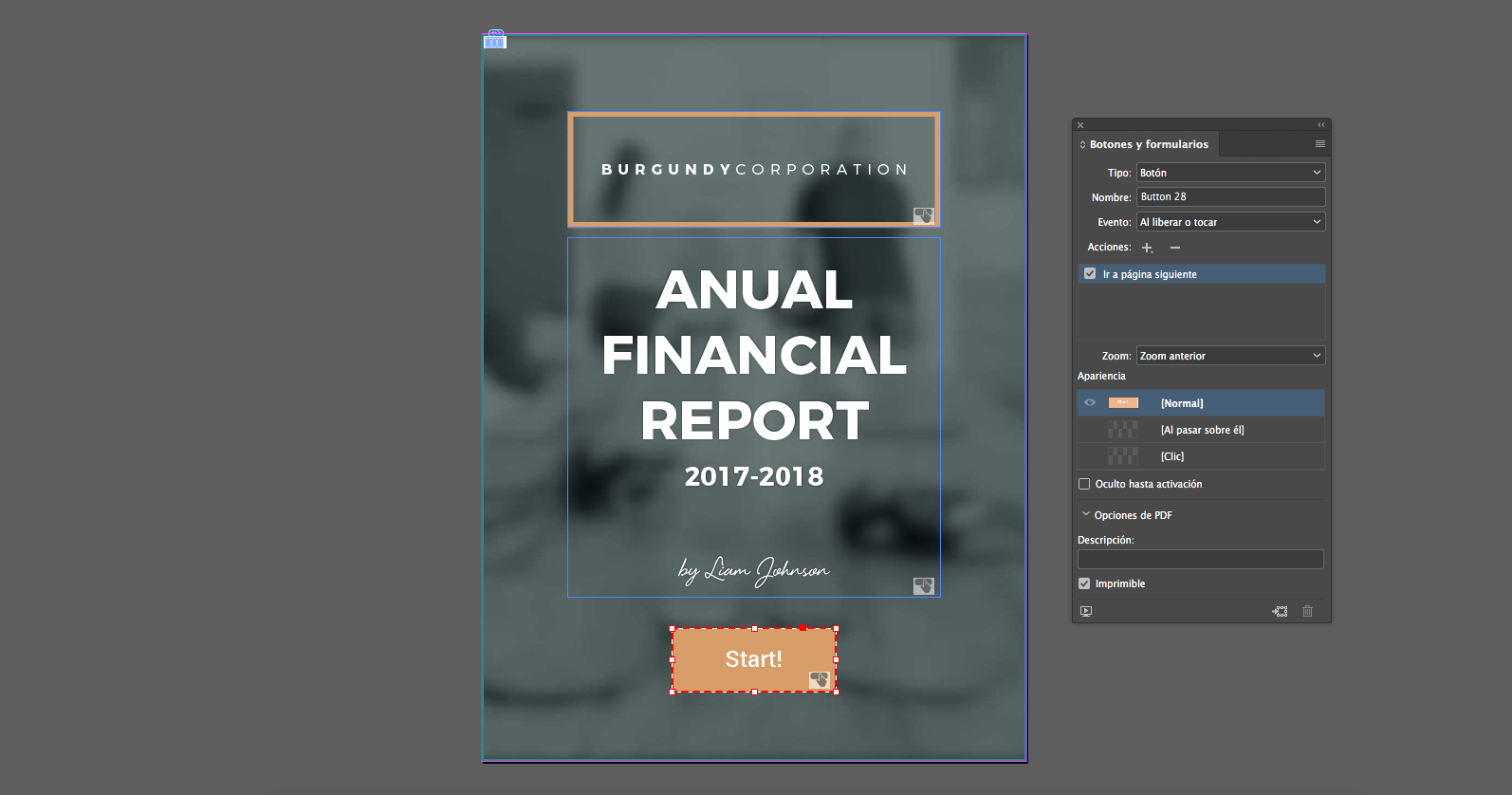 Anual Financial Report | 480interactive